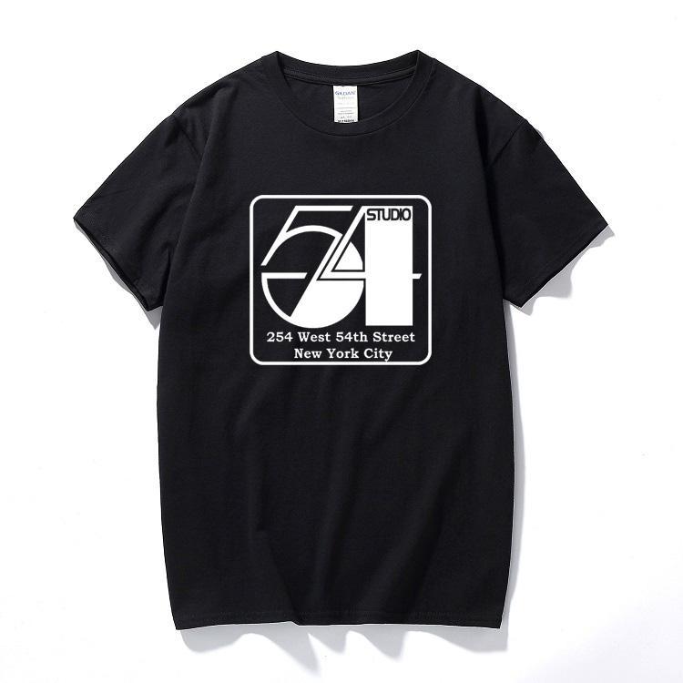 Compre Studio 54 Camisa Disco 45 Vinil Dança Jogue Para Trás Soul Men Roupas  2018 Camisetas Hombre Verão Top De Algodão De Manga Curta T Shirt De  Geshstore 43585c89c52e9