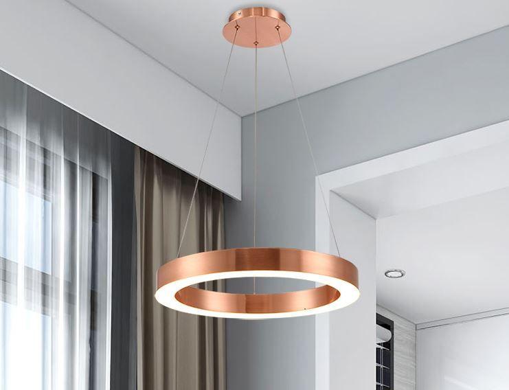 Wohnzimmer Esszimmer Kronleuchter Kreative Personlichkeit Modernen Minimalistischen Nordic Beleuchtung Kreis Runden Kronleuchter