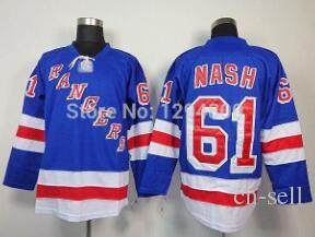 Cheap Mens NY  61 Rick Nash Jersey New York Rangers Hockey Jerseys ... 0ec3d59e2