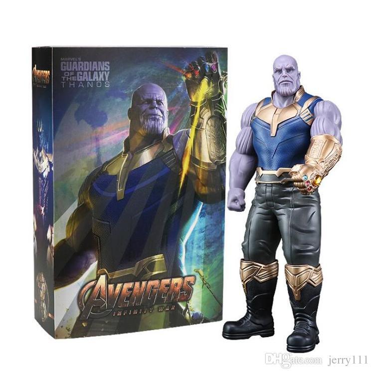 Marvel Avengers Infinity War Thanos Actionfigur Figuren Spielzeug Toys 33cm Comicfiguren