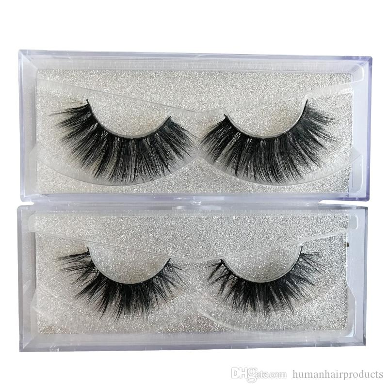 3f6aa28a90b Wholesale Eyelashes 6D Faux Mink Eyelashes 100% Handmade Silk Hair Strip  Lashes Natural Thick Cross False Eyelashes Fake Eyelashes False Eyelashes  From ...