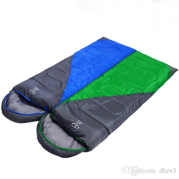 HW-05 Trending products Outdoor Camping envelope sleeping bags outdoor gear hiking for 3 season !