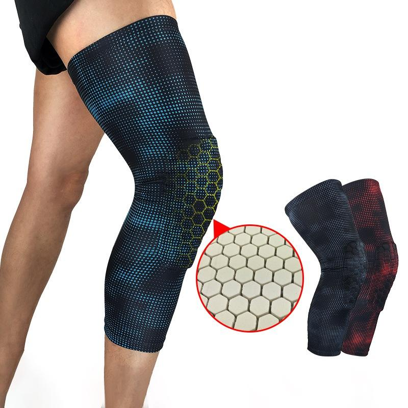 b0af025be0 2019 Sport Safety Basketball Football Knee Brace Support Leg Sleeve Knee  Pads Protector Calf Support Ski/Snowboard Kneepad Hy From Pearguo, $33.06 |  DHgate.