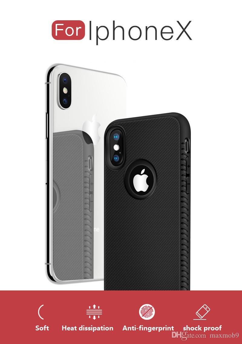 الجديدة من أجل فون برو 11 XR XS MAX X 6S 7 8 زائد TPU لينة من المطاط الهاتف الخليوي حالة سيليكون ضئيلة غطاء الفاخرة