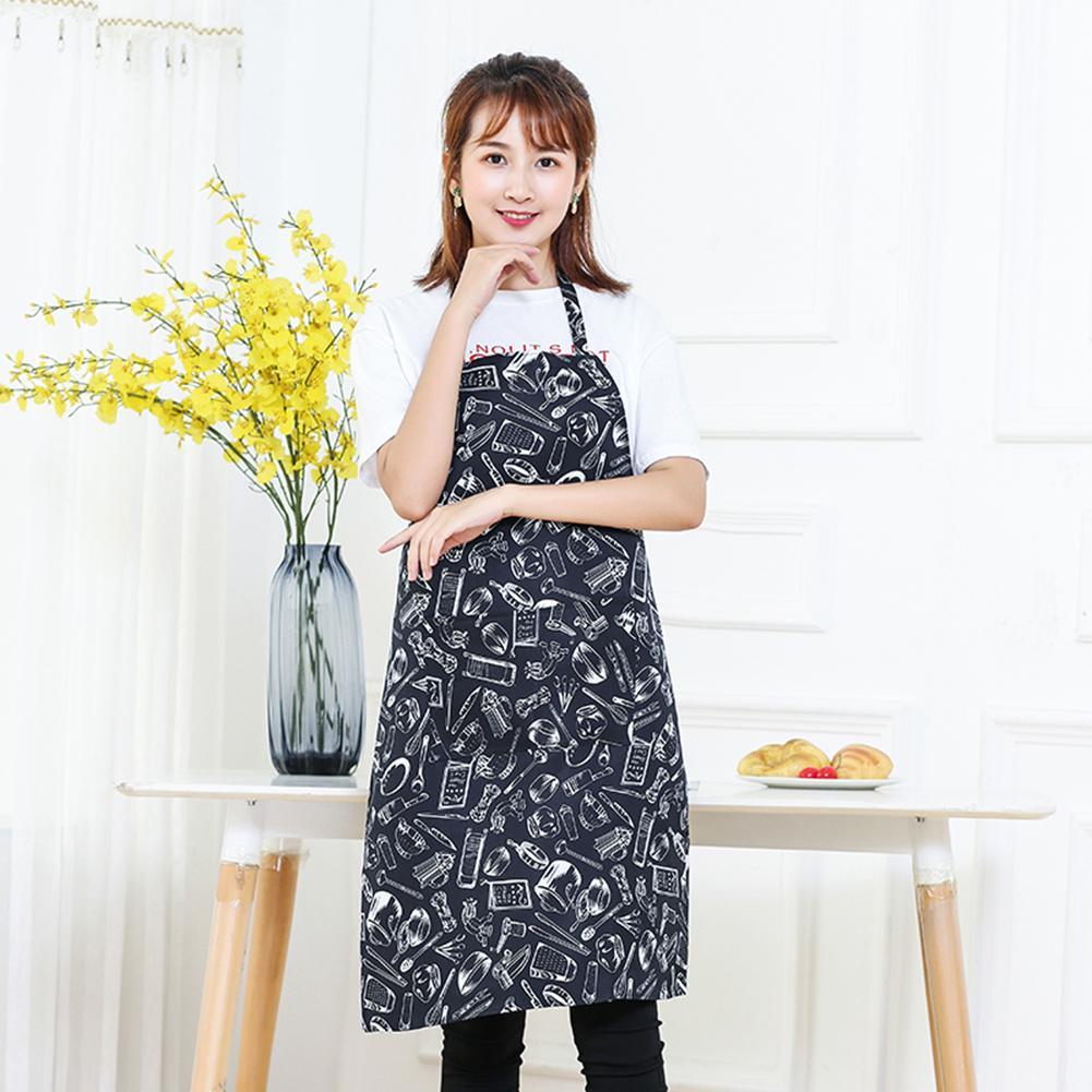Polyester Chef Waiter Kitchen Apron Cook New Tool Kitchen Apron ...