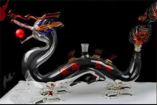 Dragon hookah Wholesale Glass bongs Oil Burner Glass Water Pipes Oil Rigs Smoking, Oil.