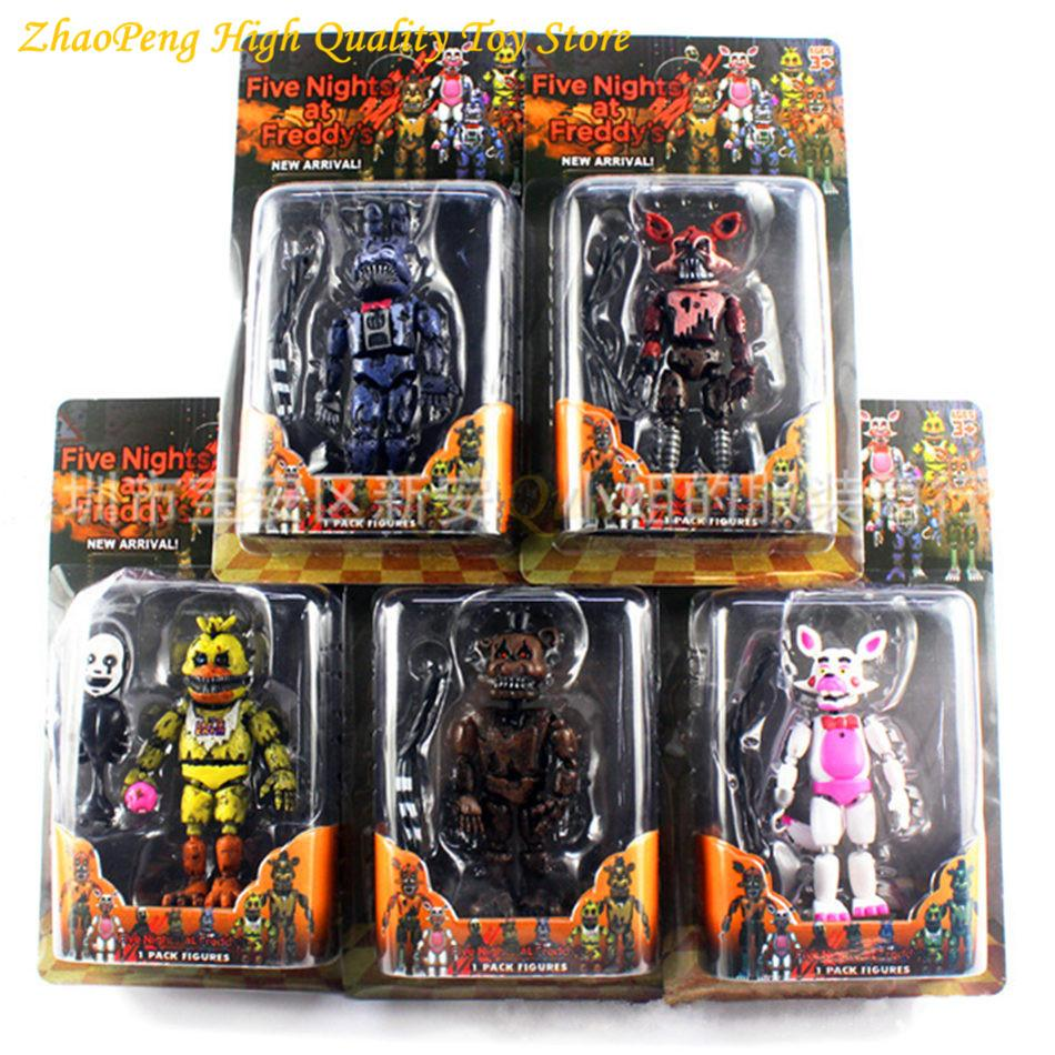 discount set lightening movable joints five nights at freddy s