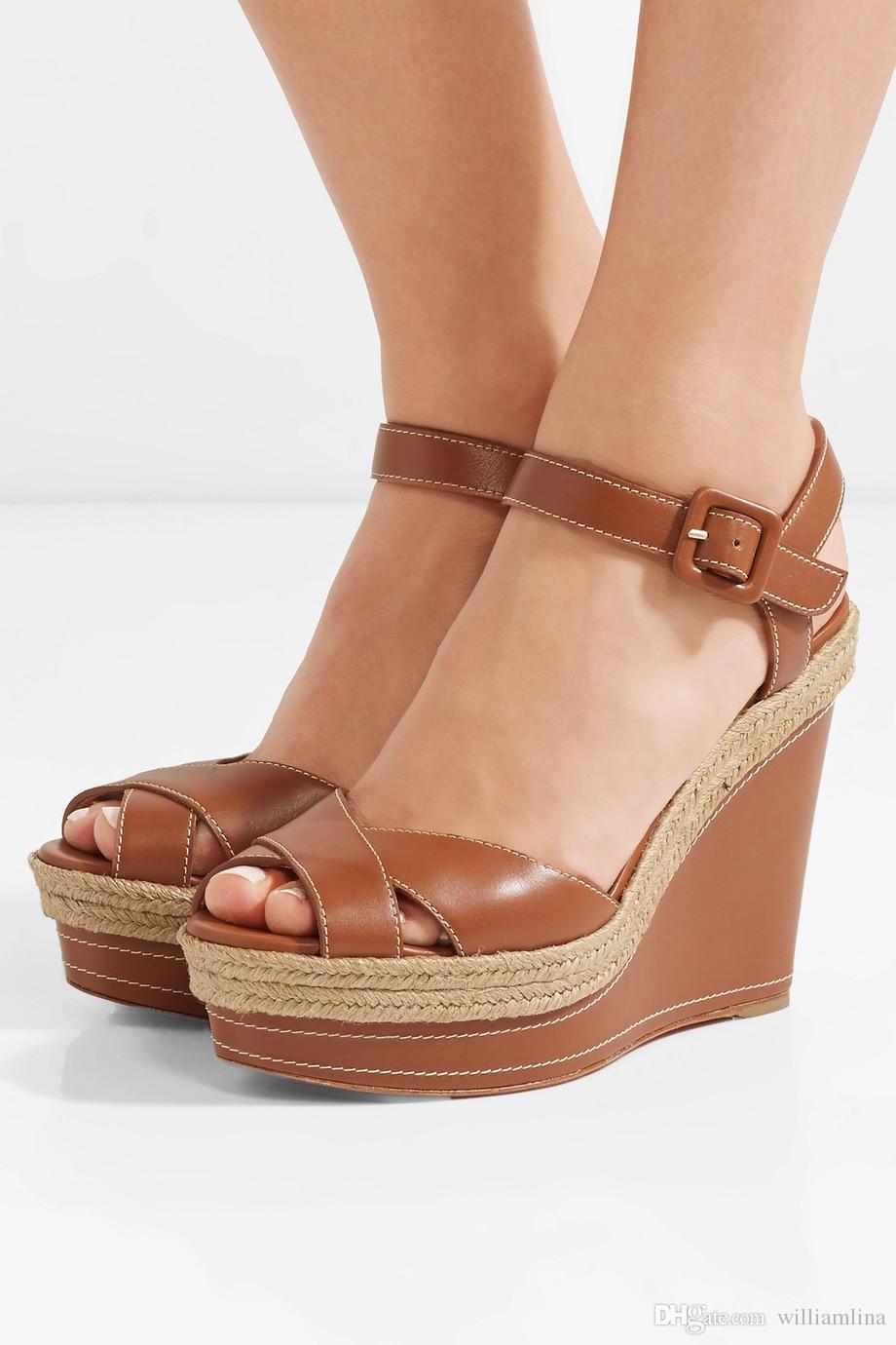 dd4ef63bc0f Summer platform wedge almeria leather red bottom ladies wedges women jpg  920x1380 Platform evening sandals