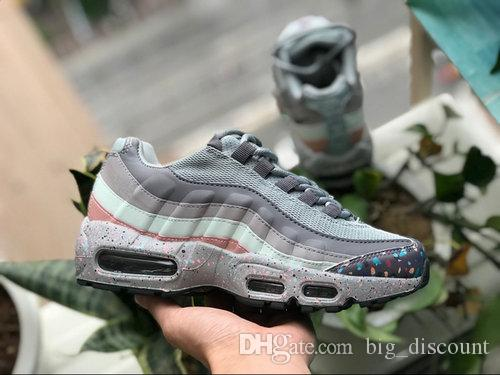 factory price 4db5f fc548 Acheter Nike Air Max Airmax 95 VII PurDrop Shipping Vente En Gros Chaussures  De Course Hommes Airs Coussin 95 OG Sneakers Bottes Authentiques 95 S  Nouvelle ...