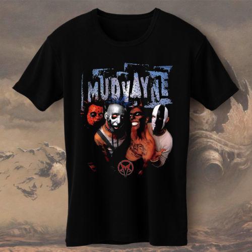 Quirky Shirts Best Friend Men O-Neck Short-Sleeve Mudvayne Heavy Metal  Shirts