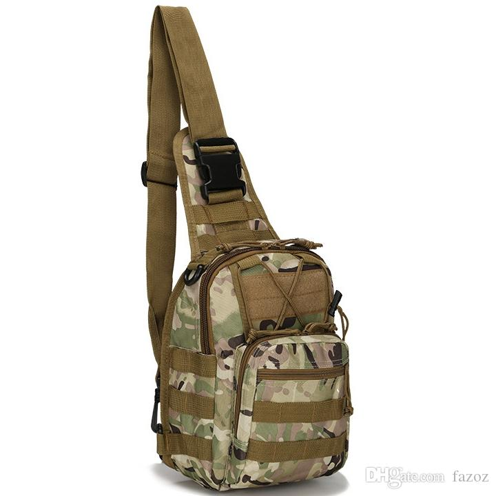 Generic Utility Military Tactical Gear Shoulder Bag Sling Chest Bags Pouches Pack MOLLE Tactical Gear Attachment System Daypack