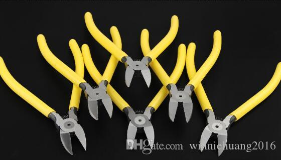 High Quality 6 Inch Plastic Nippers CR-V Electrical Diagonal Pliers Wire Side Cutting Snips Flush Plier