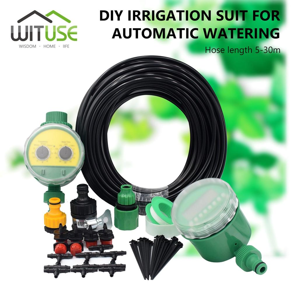 2018 diy automatic micro drip irrigation system plant watering