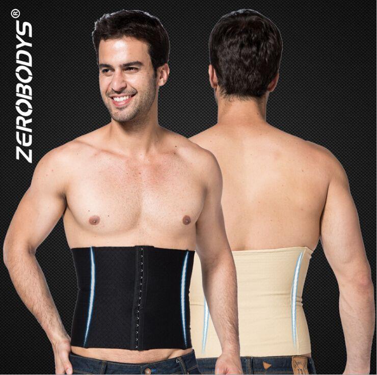 d50eb88bce Zerobodys Men Body Shapers Waist Trainer Cincher Belt Waist Tummy ...