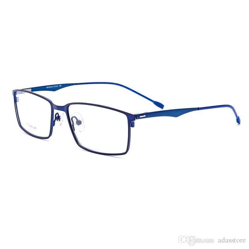 dbbbf1bd46 Compre Gafas Retro Cuadradas Para Hombre. Lentes Ultraligeras Para Mujer. A  $30.46 Del Adasstore | DHgate.Com