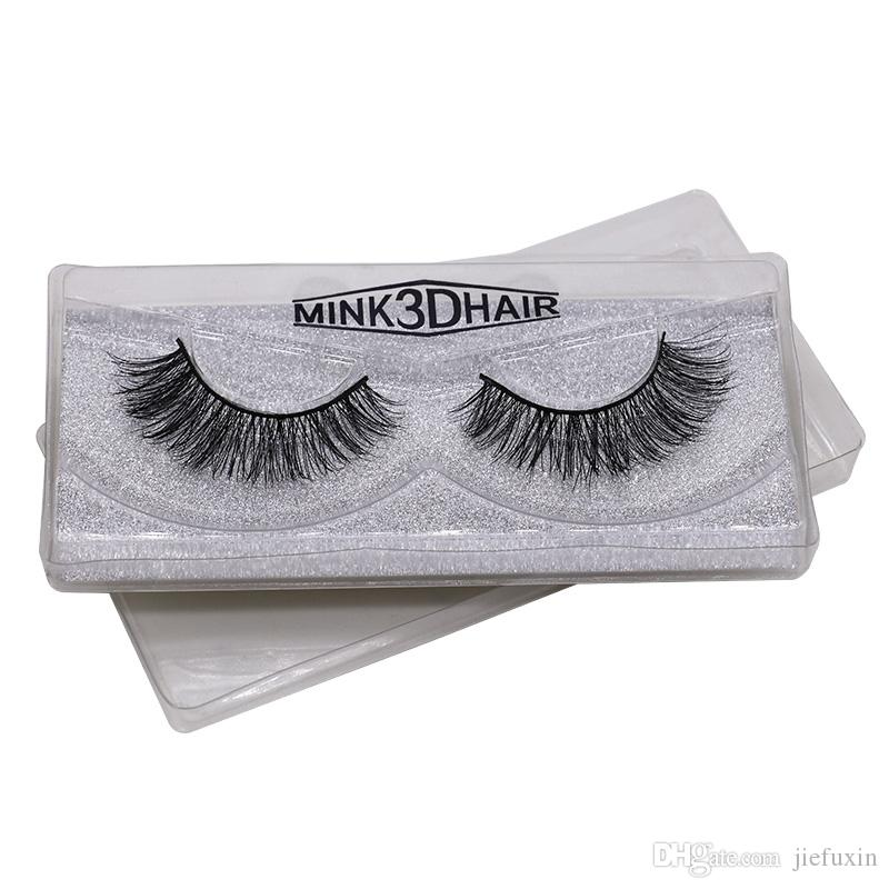 2b37060be5c Cruelty Free Natural False Eyelashes Fake Lashes Long Makeup 3D Mink Lashes  Extension Eyelash Mink Eyelashes For Beauty Individual Eyelash Extensions  Best ...