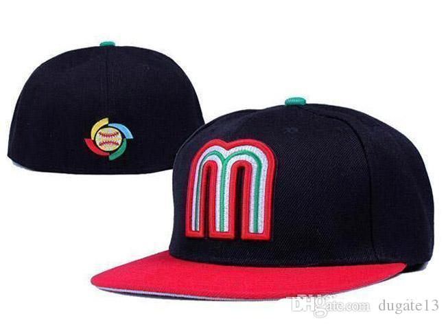 Good Selling Mexico Fitted Hats For Men Baseball Cap Outdoor Sports