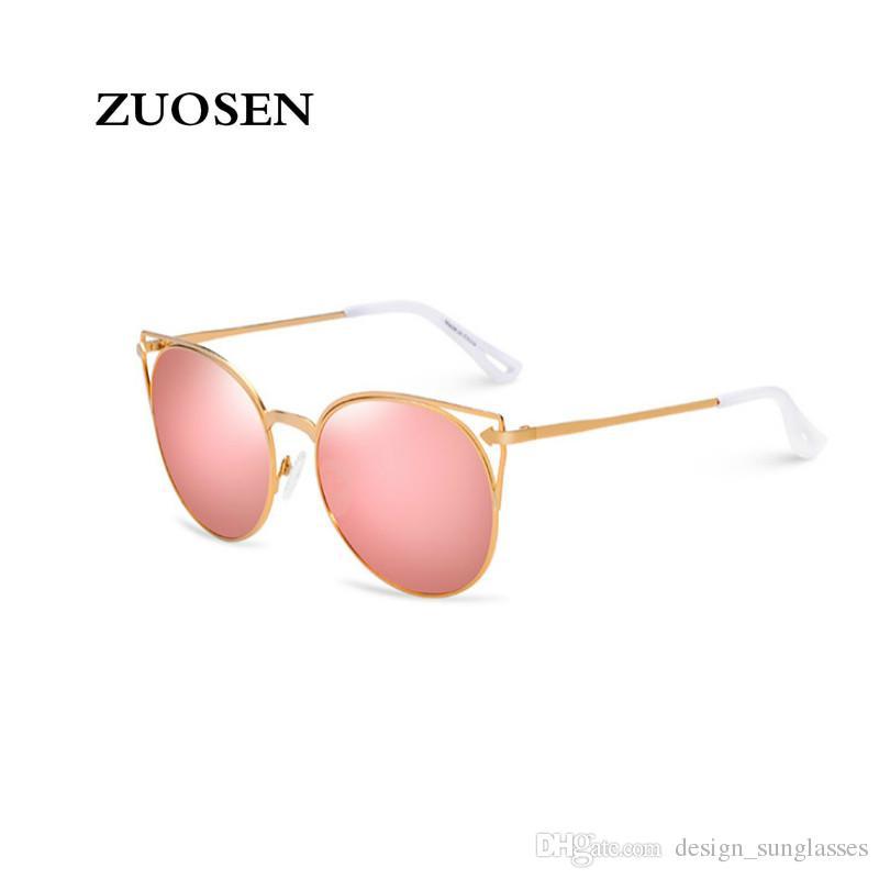 d1f9d3e04d ZUOSEN 2018 Best Selling Fashion Vintage Sunglasses For Women Polrizing  Lens UV400 Luxury Brand Designer Sunglasses With Fine Box Running Sunglasses  ...