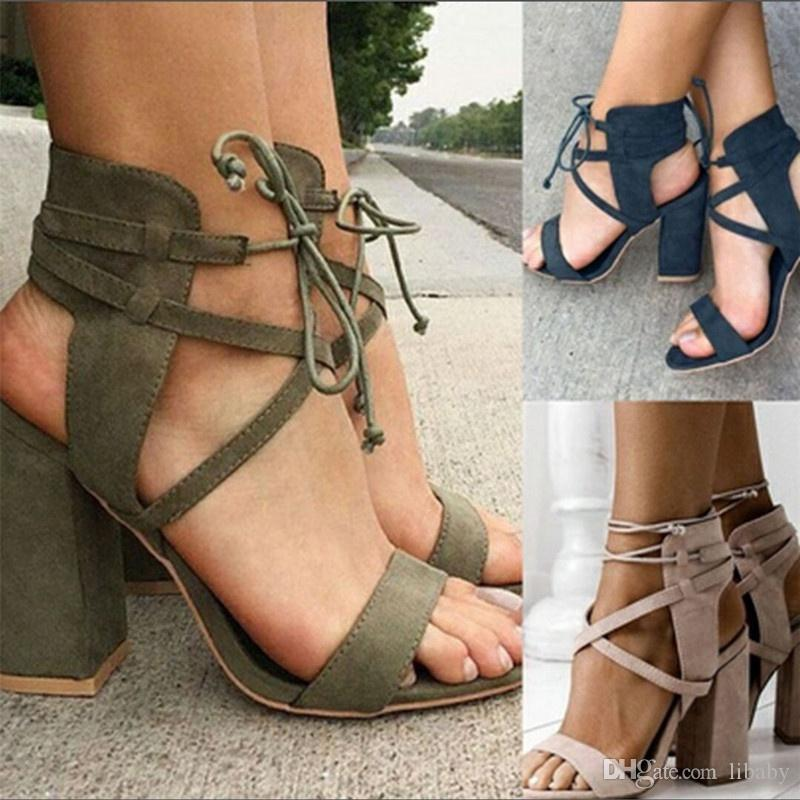 Elegant woman shoes fashion high heel hot seller new style women shoes hollow heel sandals ankle buckle pumps high heel 34-43 free shipping