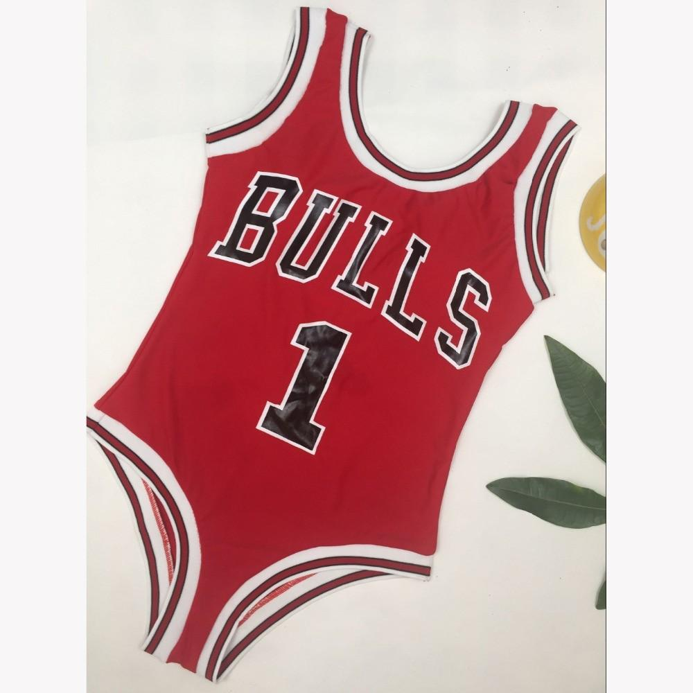 d9131c6aff5ac 2019 Water Princess Bikini 2019 Beyonce BULLS Swimsuit Letter Women Red  Deep V Solid Swimwear Sexy Bathing Beachwear Biquini Female From  Mazhongbin36