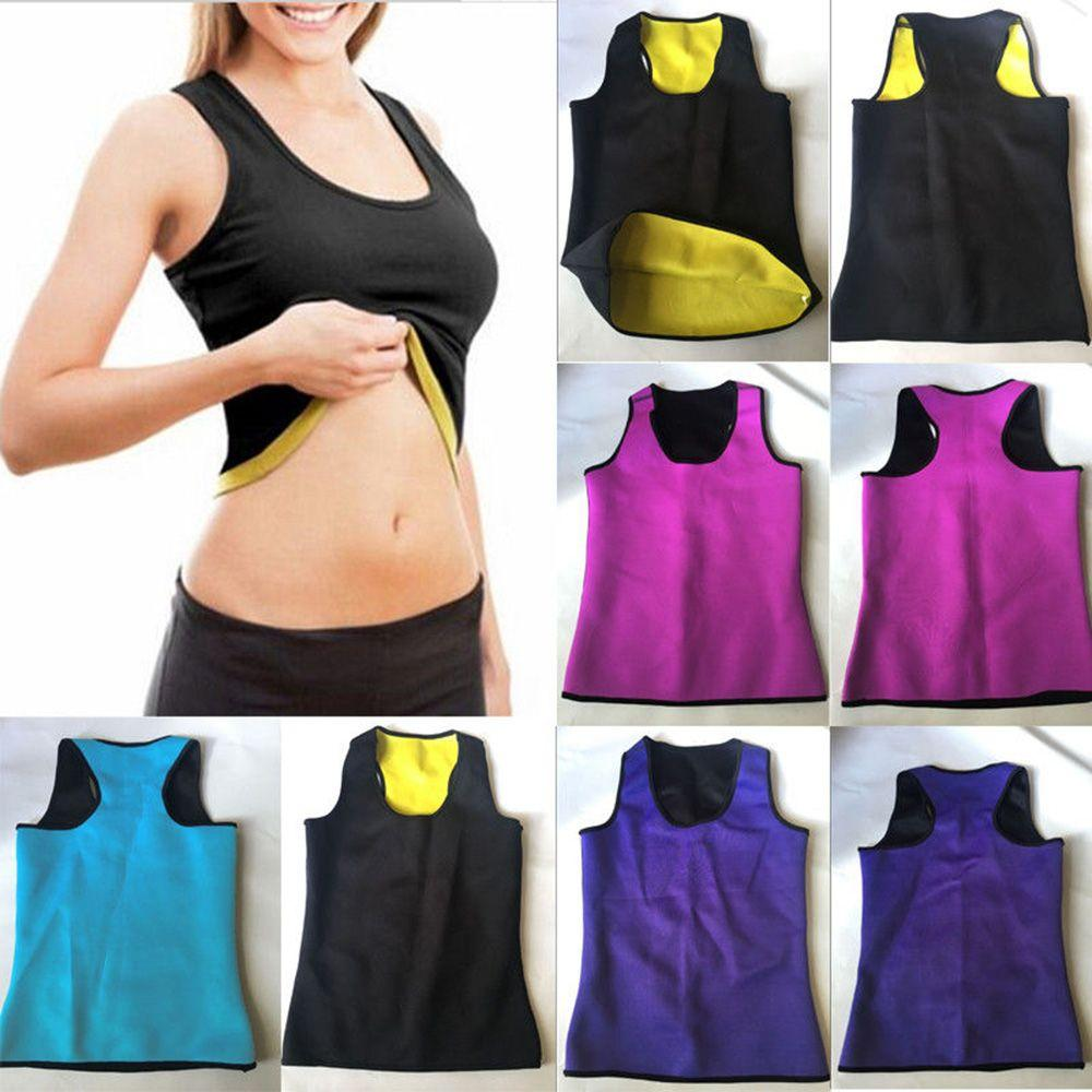 4b4cf20c0c 2019 Women Sweat Sauna Body Shaper Slimming Vest Thermo Neoprene Waist  Trainer Fashion New Shapewear From Derricky