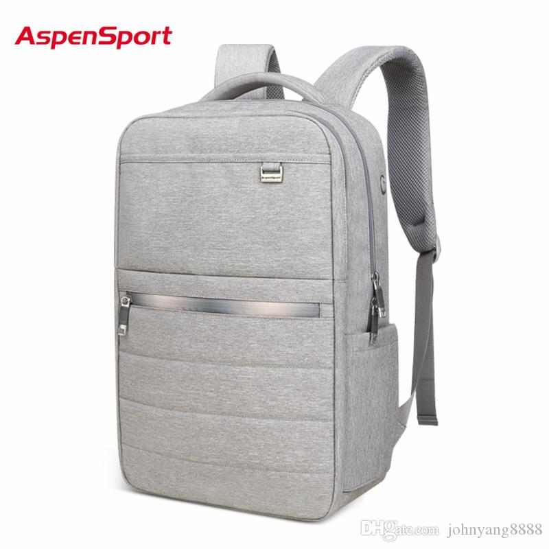 AspenSport 2017 Light Business Men's Backpacks Laptop Backpack For ...