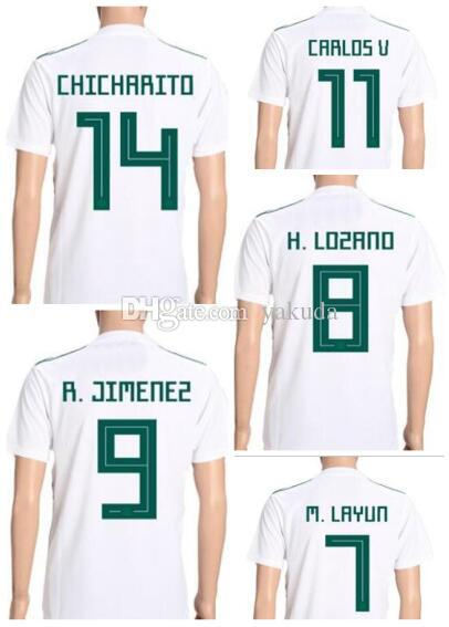 1c8698c735b Mexico Discount Cheap 18-19 Customized Thai Quality Soccer Jerseys ...
