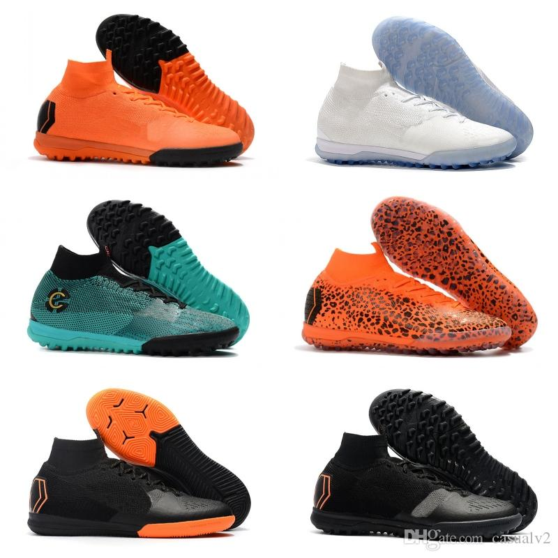 d7f98851c 2019 Mercurial SuperflyX VI Elite CR7 IC Best Quality Outdoor Football Shoes  SuperflyX 6 Elite TF Soccer Boots Football Cleats From Casualv2