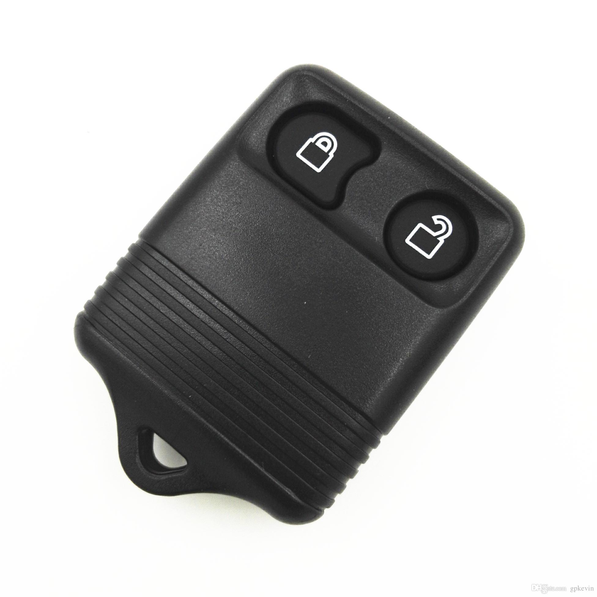 Replacement 2 Buttons Blank Key For Ford Explorer Mercury Mazda Remote Case Cover Fob Key Shell No Chips Inside