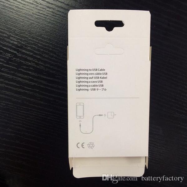 caja al por menor al por mayor !! paquete para adaptador de iphone cable de datos usb caja de venta al por menor para iphone 7 8 cable con precio de fábrica
