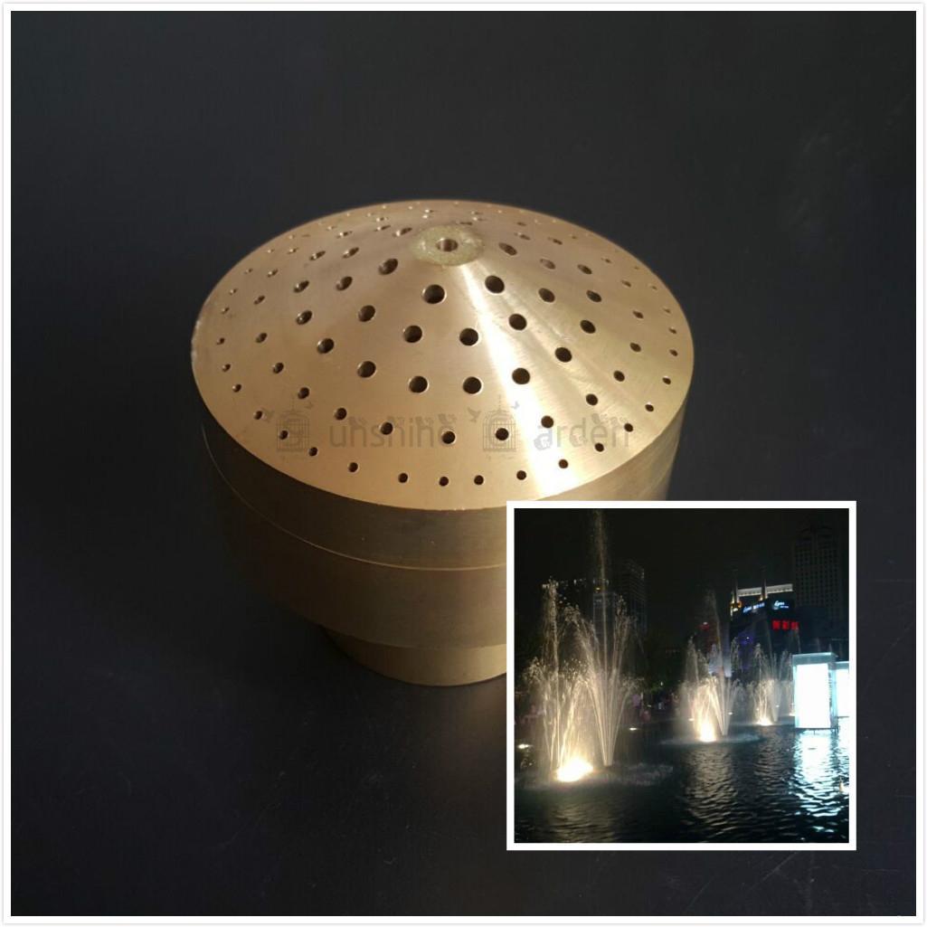 2018 1/2 Dn15 Brass Fireworks Fountain Nozzle Sprinkler Spray Head ...