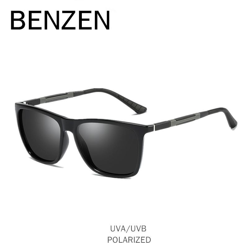d258017dcf3 Wholesale Polarized Sunglasses Men Classic Colorful Male Sun Glasses Oculos  HD UV Protection Driving Glasses Black With Case 9305 Online with   59.26 Piece ...