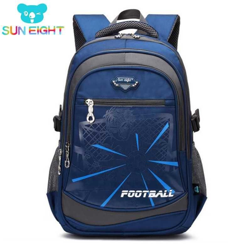 b5f3a519ce40 SUN EIGHT Boy School Bag Backpack For Boy Schoolbag Kid School Backpacks  Casual Children Bag Big Kids Bags For School School Backpack From Wiskey