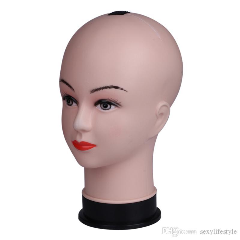 Echt Weibliche Schaufensterpuppe Kopf Modell Perücke Hut Schmuck Display Kosmetik Manikin Friseur Puppe Frauen Friseur Männchen Verkauf