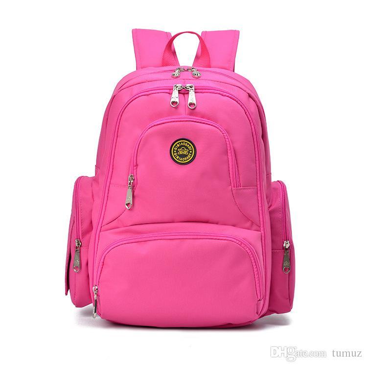 حقيبة مومياء أنيقة متعددة الوظائف وعالية السعة ، ومنتجات الأم والطفل ، وحفاضات الأطفال