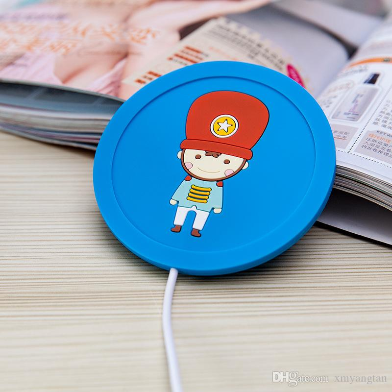 5V USB Warmer Cup Mat Silicone Heat Warmer Heater Milk Tea Coffee Mug Hot Drinks Beverage Cup Best Gifts For Friends