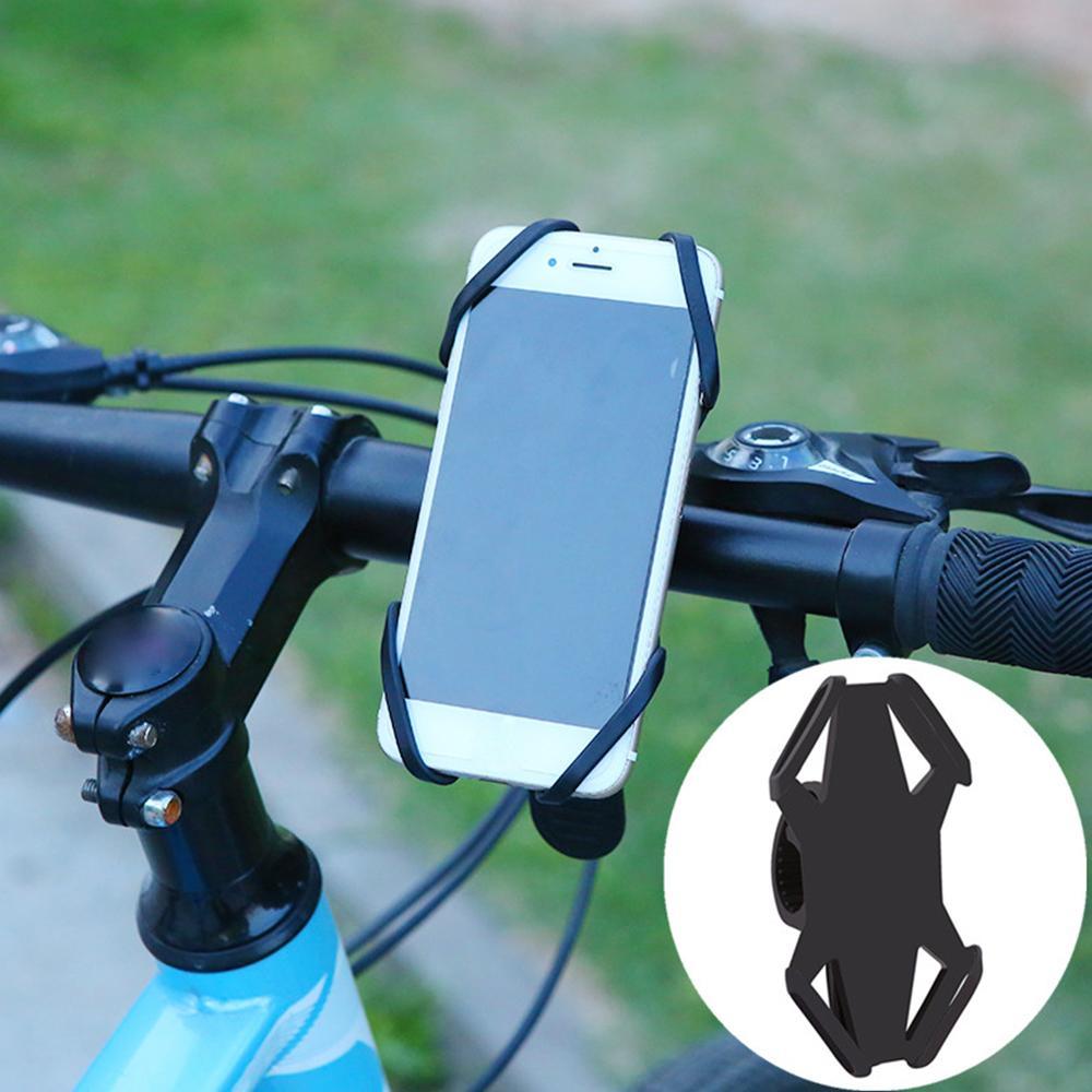 bc29991a7 Satın Al 4 6 Inç Bisiklet Kolu Çanta Raf Ayarlanabilir Bisiklet Tutucu  Standı Dağ Yol Bisiklet Aksesuarları Cep Telefonu Sahipleri