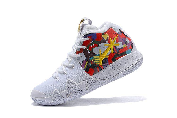 446d8da3b9 Acquista Sneakers Nike Kyrie IV Confetti Uomo Scarpe Da Pallacanestro Top  Quality Irving 4, Taglia 40 46 A $157.18 Dal Ye530035ezystore | DHgate.Com