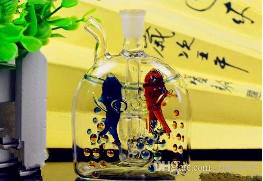 Change point Pisces hookah Wholesale Glass Hookah, Glass Water Pipe Fittings,