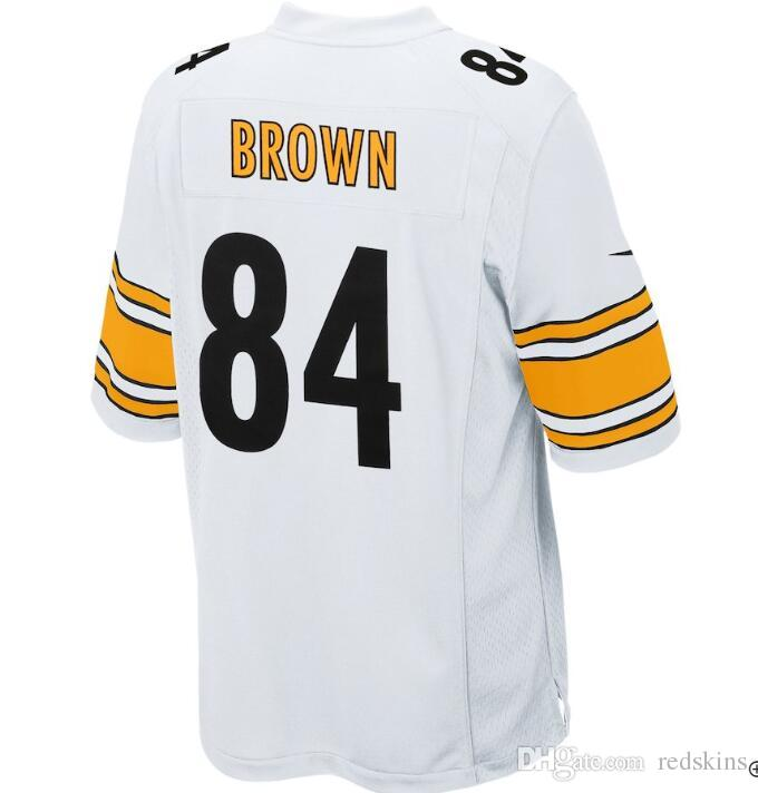 official photos acb4e 96a6e 84 Antonio Brown Jersey Alejandro Villanueva Pittsburgh Steelers salute to  service limited american football jerseys woman mens youth kids