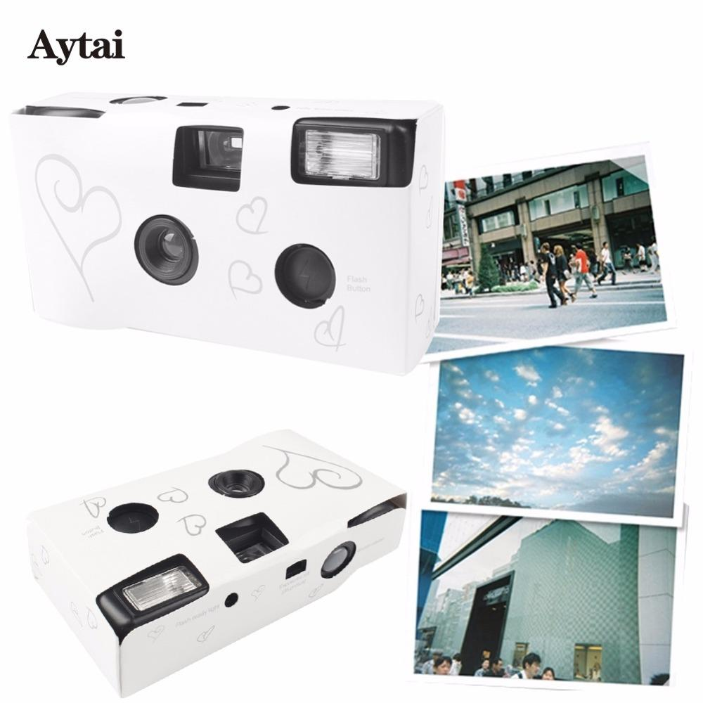 Aytai Wedding Centerpieces Heart Disposable Cameras Wedding Favors ...
