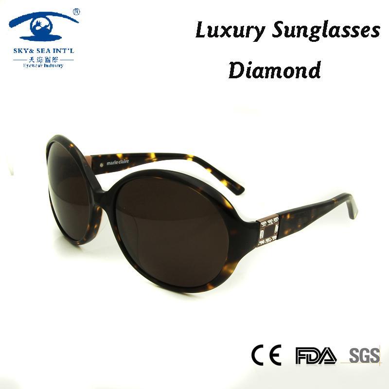 eb7f8034461ae Compre Alta Qualidade Acetato Mulheres Óculos De Sol Oversized Oculos  Feminino Vintage Diamante Gafas De Sol Designer De Marca De Luxo Oculos De  Home163