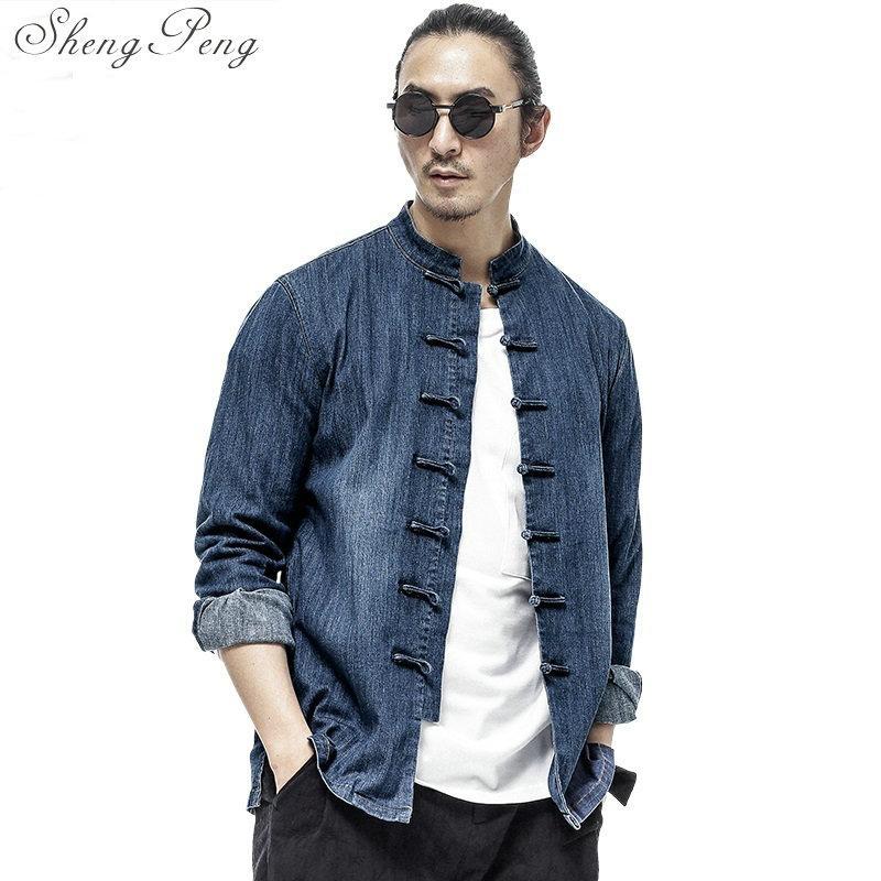 Acquista Abbigliamento Uomo Cinese Tradizionale Abbigliamento Tradizionale  Cinese Shanghai Tang Giacca Tradizionale Tang Vestito Giacca CC239 A   109.75 Dal ... bd601e049c6