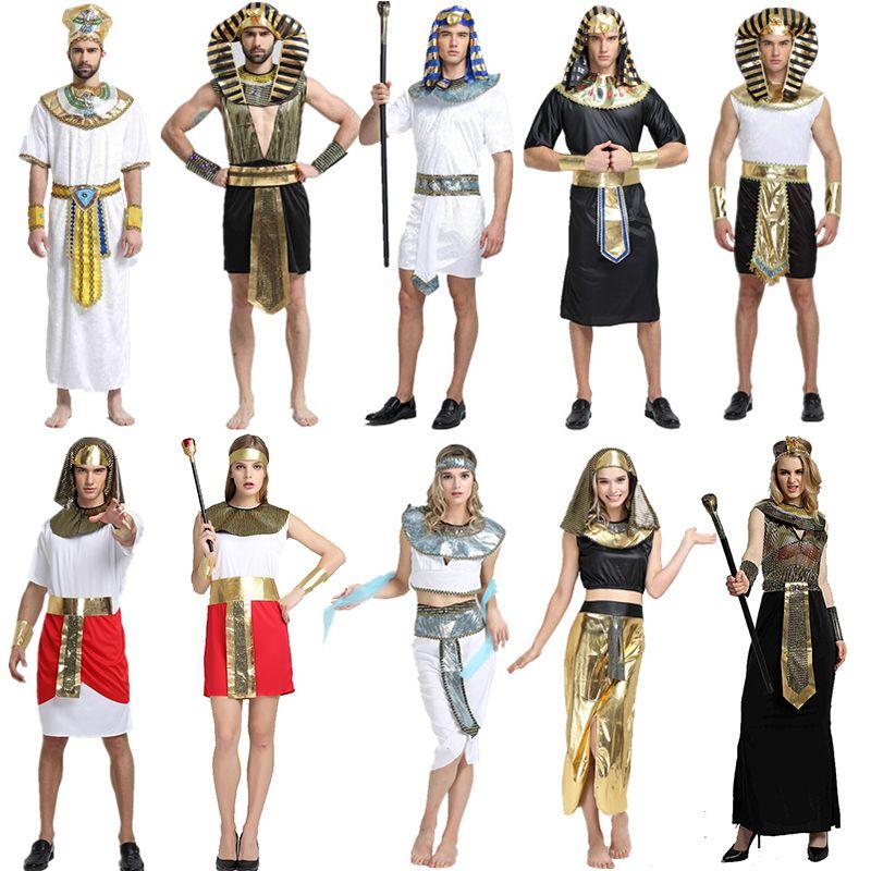 2019 Halloween Costumes Boy Girl Ancient Egypt Egyptian Pharaoh