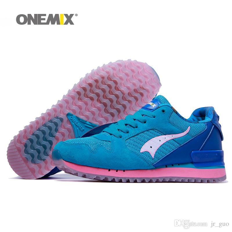 9e21bbc31021b8 2019 ONEMIX New Running Shoes For Women Mesh Trail Road Balanced Athletic  Trainers Sports Footwear Agan Classic Girls Outdoor Walking Sneakers 7 From  Jr guo ...