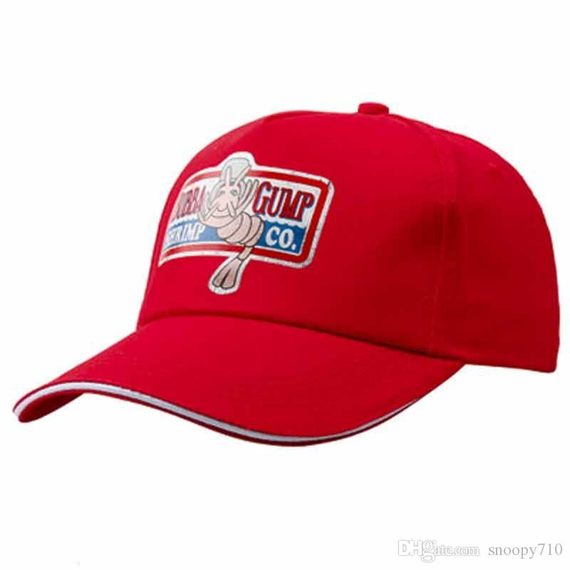 9ff0793d7fb New 1994 BUBBA GUMP SHRIMP CO. Baseball Cap Unisex Sports Cap Embroidered  Cotton Baseball Hat Summer Cap Forrest Gump Hat UK 2019 From Snoopy710