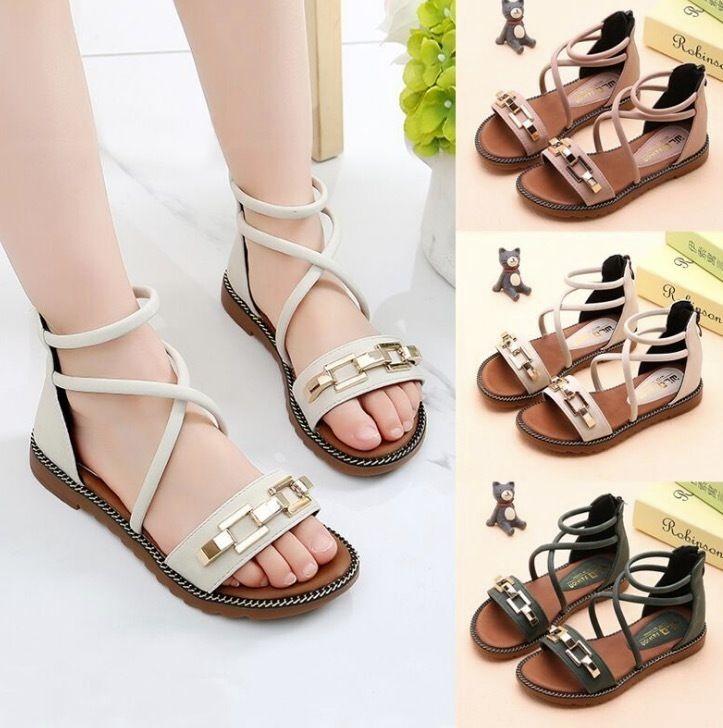 2c9e45266144 Sandals For Children Girls