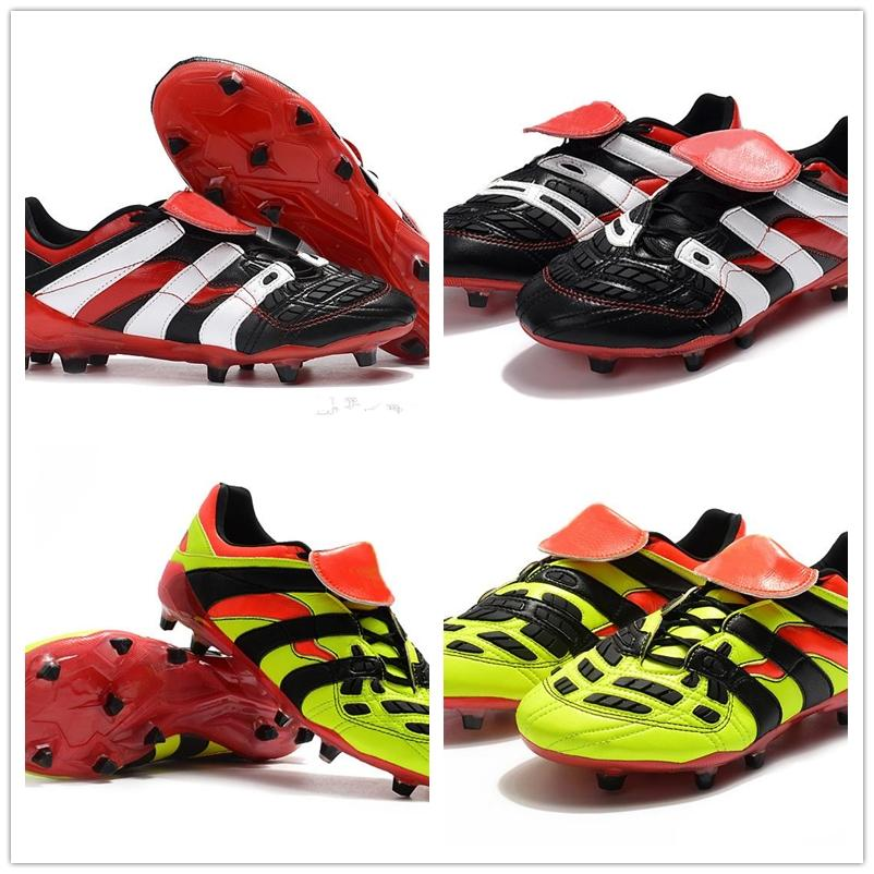 36256ba035c 2019 2018 Predator Accelerator Electricity Men Soccer Shoes 98 FG DB Dream  Back TR Becomes 1998 98 Cleats Football Boots For Mens From Buy366