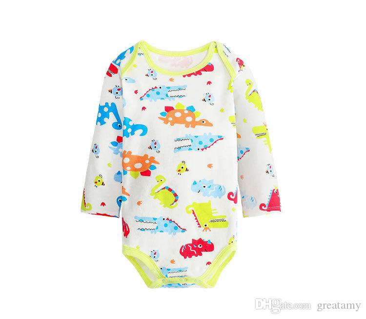 Infant baby boy girl clothes cotton romper jumpsuit bodysuit outfits 0-24M fruit lomon pineapple banana printing romper 14 styles