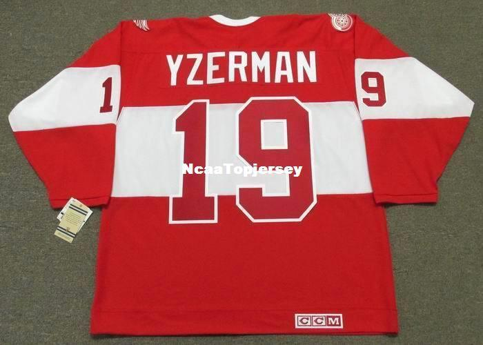 0c9d6d12 2019 Custom Mens Jerseys STEVE YZERMAN Detroit Red Wings CCM 2014 Winter  Classic Alumni Retro Hockey Jersey From Ncaatopjersey, $30.97 | DHgate.Com
